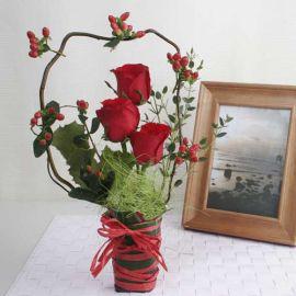 Christmas Present Fantasy Bouquet