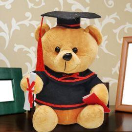 Add-on 18cm Sitting Graduation Bear