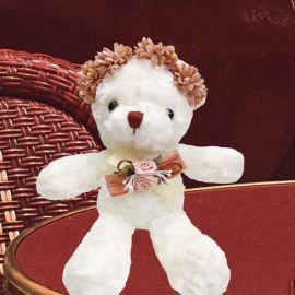 Add-on 20cm Flower Crown Bear