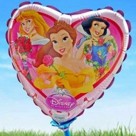 Add On Princess Balloon (Heart-Shaped)