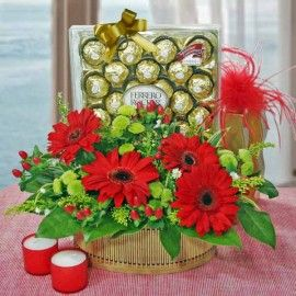 Mom's Choco Joy Basket