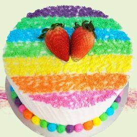 Add-On Rainbow Cake 0.5 kg
