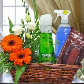 Method® Cleaning Products Gift Basket & Roses