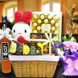 Easter Day Chocolates & Flower