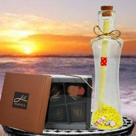 Message-in-a-Bottle & Chocolate
