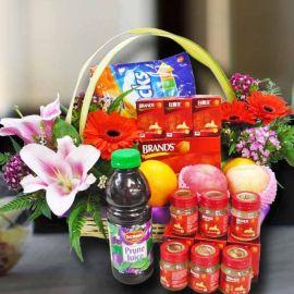 Pink Lily & 6 (Brand's) BirdNest - Halal