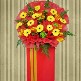 5 Feet Grand Opening Flowers Stand Delivery