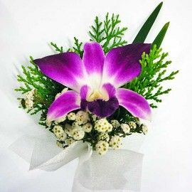 Orchid Corsage ( Add-On Only, No Delivery )