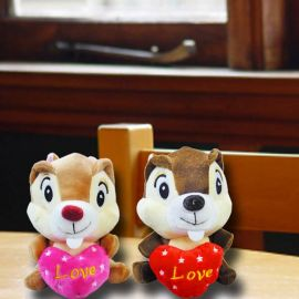Add-On 16cm Stuffed Squirrel ( Choose One Color Only )