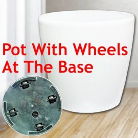 Add-On hydroponic Planter Pot with wheels 45cm Diameter