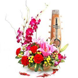 Exotic Prosperity CNY Flowers Arrangement