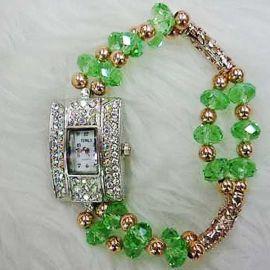 Green Crystal Watch WA007