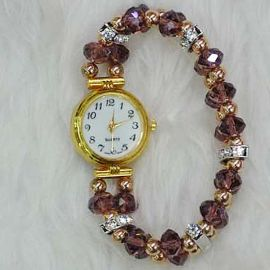 Well-Crafted Crystals Watch