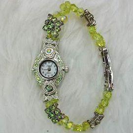 Green Crystal Watch WA018