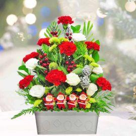 Christmas Flower Arrangement Delivery