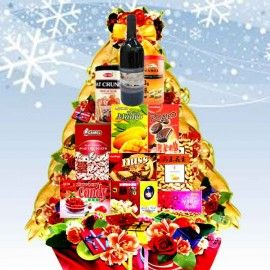 Red Wine Mirth Christmas Gift Hamper