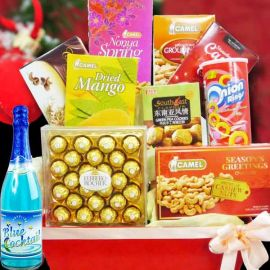Christmas Hamper & Gift Basket XM122
