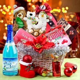 Red Christmas Gift Hamper